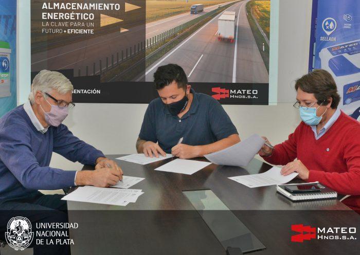 Firma de Convenio Mateo Hnos - UNLP